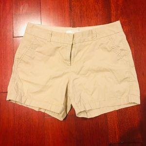 J Crew khaki shorts